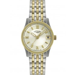 Rotary Ladies Two Tone Watch LB00793-09