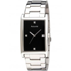 Accurist Mens Diamond Dress Watch MB890DIA