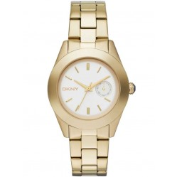 DKNY Ladies Gold Plated Watch NY2132