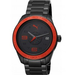 Puma Mens Slice Black Bracelet Watch PU102971002