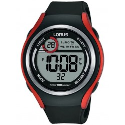 Lorus Mens LCD Dual Time Display Watch R2379LX9