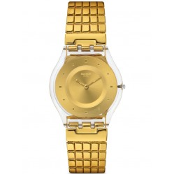 Swatch Ladies Golden Lips Watch SFK394GA