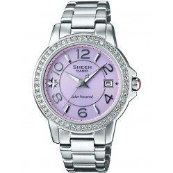 Casio Sheen Ladies Solar Watch SHE-4026SBD-4ADR