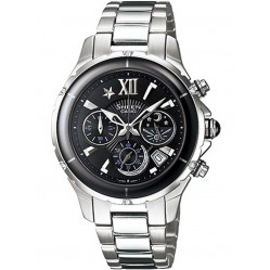 Casio Sheen Ladies Chronograph Watch SHE-5023L-1AER