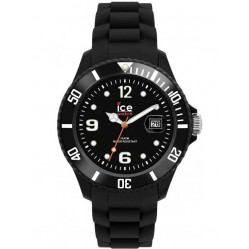 Ice-Watch Unisex Rubber Strap Watch SI.BK.B.S.12