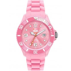Ice-Watch Ladies Pink Rubber Strap Watch SI.PK.S.S.12