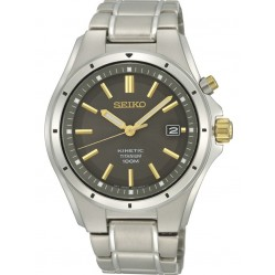 Seiko Mens Kinetic Watch SKA495P1