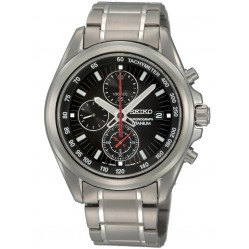 Seiko Mens Titanium Chronograph Watch SNDC93P1