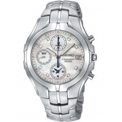 Seiko Ladies Chrono Diamond Watch SNDZ25P9