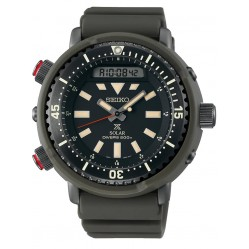 Seiko Mens Prospex Dual Display Watch SNJ031P1