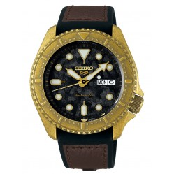 Seiko Mens 5 Sports Strap Watch SRPE80K1