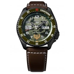 Seiko 5 Sports Limited Edition Street Fighter GUILE Watch SPRF21K1