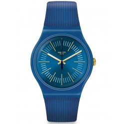Swatch Cyderalblue Strap Watch SUON143