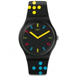 Swatch Mens Bond Dr No 1962 Watch SUOZ302