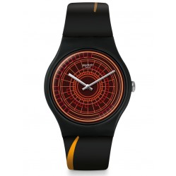 Swatch Mens Bond World Not Enough'99 Watch SUOZ304