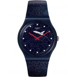 Swatch Mens Bond Moonraker 1979 Watch SUOZ305