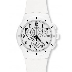 Swatch Unisex Twice Again White Watch SUSW402
