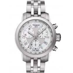 Tissot Ladies PRC200 Steel Bracelet Watch T055.217.11.113.00