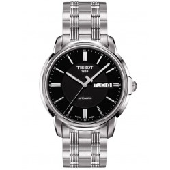 Tissot Mens Black Dial Watch T065.430.11.051.00