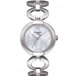 Tissot Ladies Pinky Steel Circle Watch T084.210.11.117.01