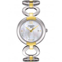 Tissot Ladies Pinky Two Tone Circle Watch T084.210.22.117.00