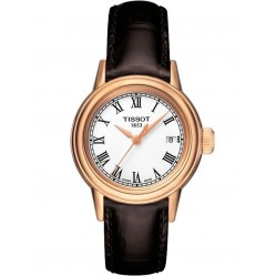 Tissot Ladies Carson Gold Plated Strap Watch T085.210.36.013.00