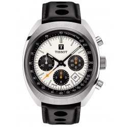 Tissot Mens Heritage 1973 Black Strap Chronograph Watch T124.427.16.031.00