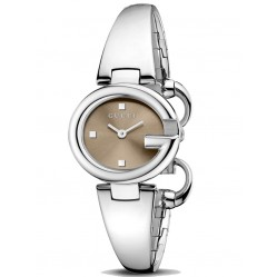 Gucci Ladies Half Bangle Watch YA134503