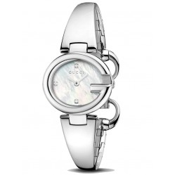 Gucci Ladies Half Bangle Watch YA134504