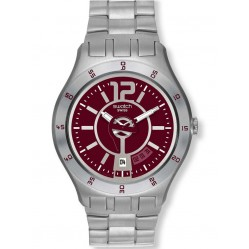 Swatch Unisex In A Burgundy Mode Watch YTS405G