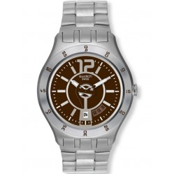 Swatch Mens In A Brown Mode Watch YTS406G