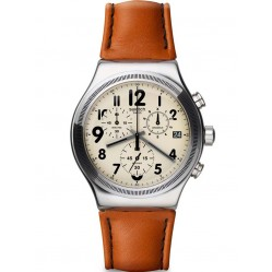 Swatch Mens Leblon Chronograph Watch YVS408