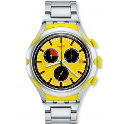 Swatch Men's Irony Lemon Squash Chronograph YYS4002AG