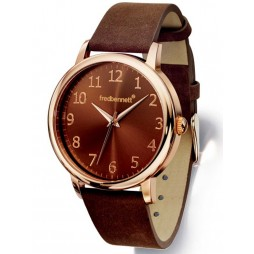 Fred Bennett Mens Brown Watch Z954