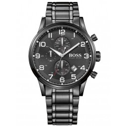 Hugo Boss Mens Aeroliner Chronograph Bracelet Watch 1513180