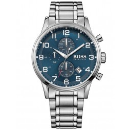 BOSS Mens Aeroliner Chronograph Bracelet Watch 1513183