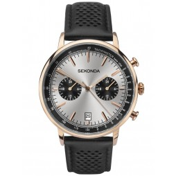 Sekonda Mens Dual Time Watch 1695