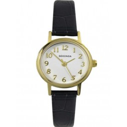 Sekonda Ladies Gold Plated Strap Watch 4971
