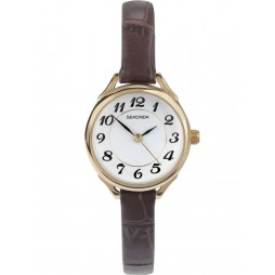 Sekonda Ladies Gold Strap Watch 4701