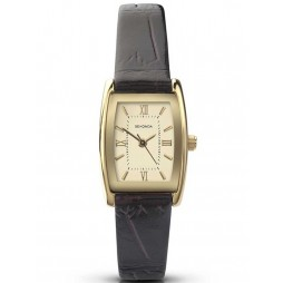Sekonda Ladies Gold Plated Leather Strap Watch 4518