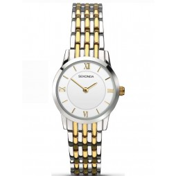 Sekonda Ladies Two Tone Bracelet Watch 2198
