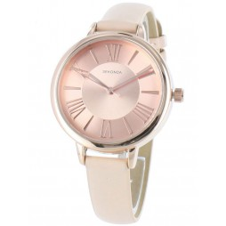 Sekonda Ladies Cream Strap Watch 2355