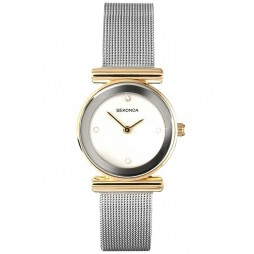 Sekonda Ladies Two Tone Mesh Bracelet Watch 4887