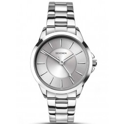 Sekonda Ladies Silver Tone Bracelet Watch 2455