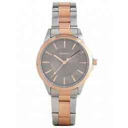Sekonda Ladies Two Tone Bracelet Watch 2456
