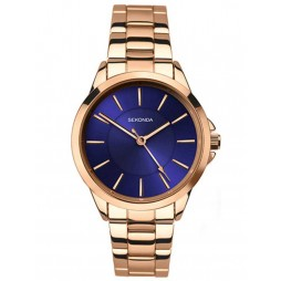 Sekonda Ladies Rose Gold-Plated Bracelet Watch 2457