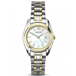 Sekonda Ladies Mother Of Pearl Stainless Steel Bracelet Watch 2393