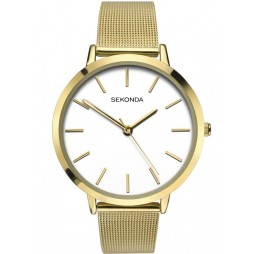 Sekonda Ladies Gold Stainless Steel Bracelet Watch 2487