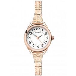 Sekonda Ladies Rose Gold Plated Expandable Watch 2639