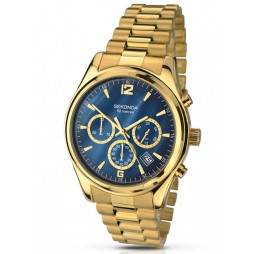 Sekonda Mens Gold Plated Watch 1050